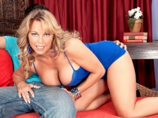 Amber Lynn Is Bach In The Saddle Again