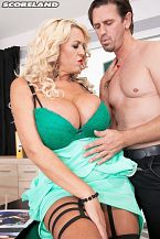 Blue Movie: Business Is Bangin' For Big boobed Boss Shannon Blue