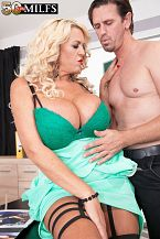 Busty boss Shannon Blue bangs her employee