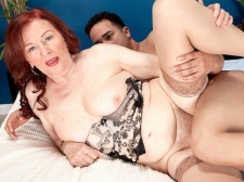 The 70Plus HORNY HOUSEWIFE and the 24-year-old stud