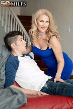 Lacy's future son-in-law shags her taut ass