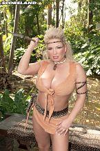 Mamazon Rachel Acquires A Jungle Threesome